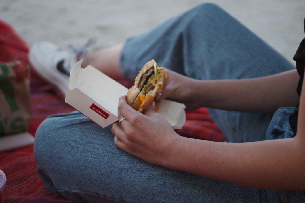 Hamburger mc donalds